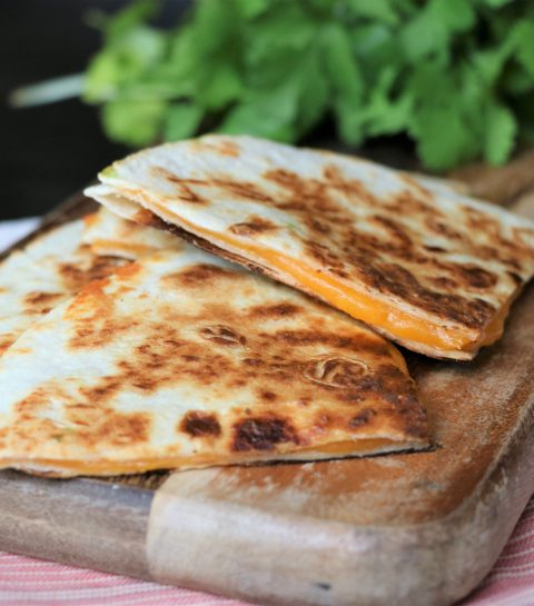 Cheese Guesadillas