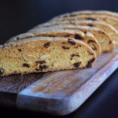Cranberry Almond and Orange Biscotti