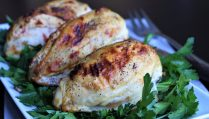 Goat Cheese and Sun Dried Tomato Chicken