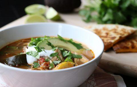 Non-Tortilla Soup